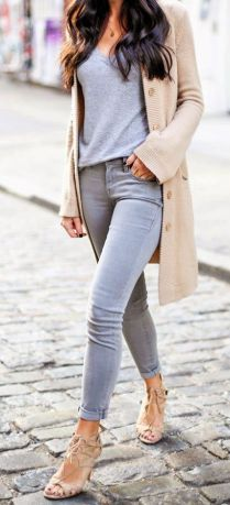 gray-jeans-beige-cardigan-spring-fashion-2016
